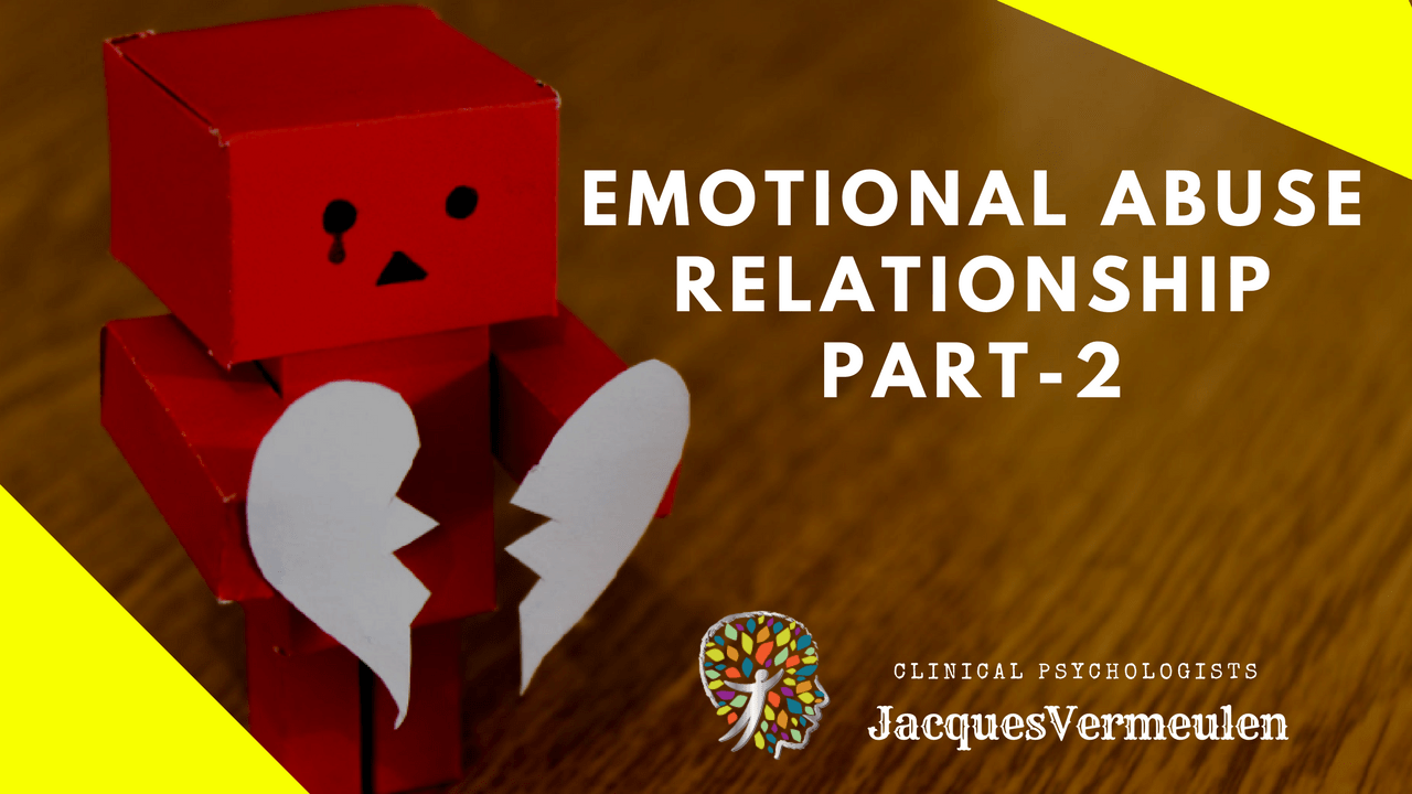 Emotional Abuse Relationship